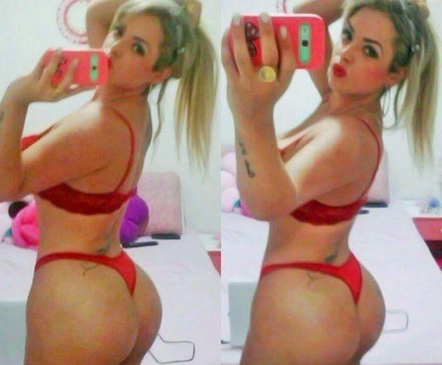 Angel Lima atriz porno em selvies picantes 5