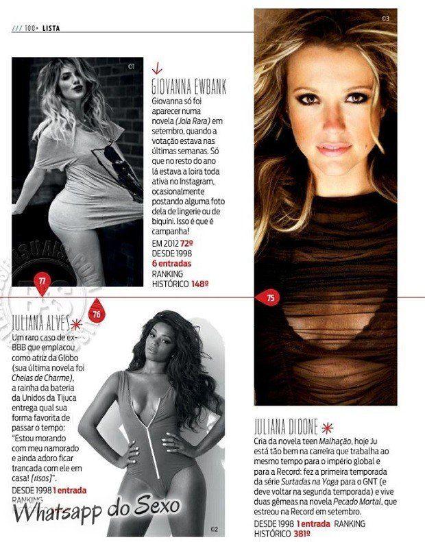 Gostosa Paolla Oliveira posando para a revista como a mulher mais sexy do mundo (11)