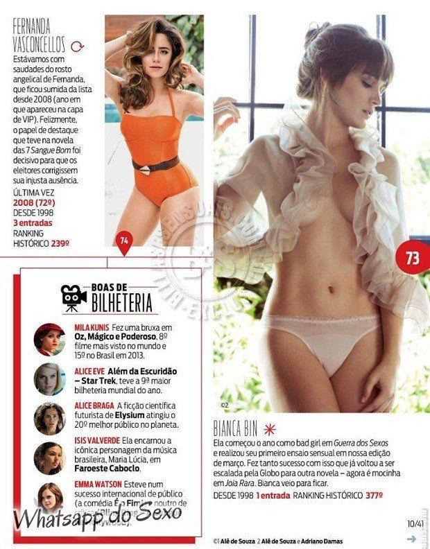 Gostosa Paolla Oliveira posando para a revista como a mulher mais sexy do mundo (12)