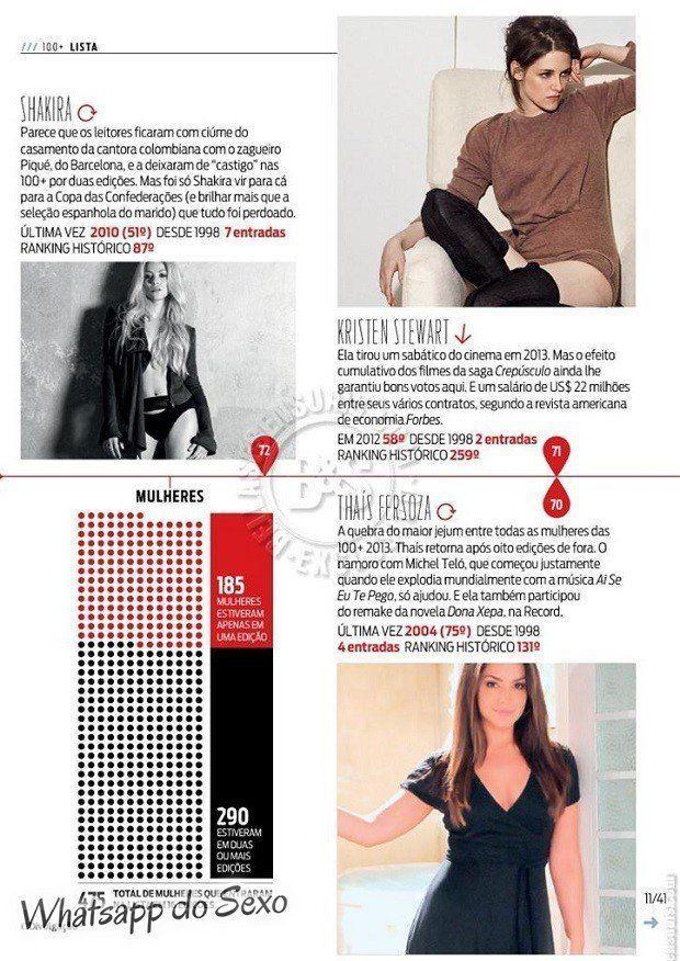 Gostosa Paolla Oliveira posando para a revista como a mulher mais sexy do mundo (13)