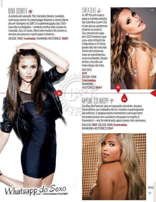 Gostosa Paolla Oliveira posando para a revista como a mulher mais sexy do mundo (15)