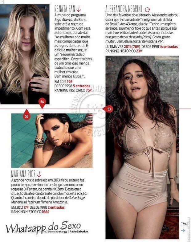 Gostosa Paolla Oliveira posando para a revista como a mulher mais sexy do mundo (19)