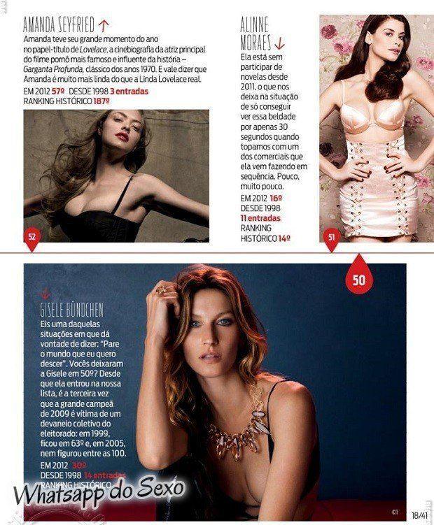 Gostosa Paolla Oliveira posando para a revista como a mulher mais sexy do mundo (20)