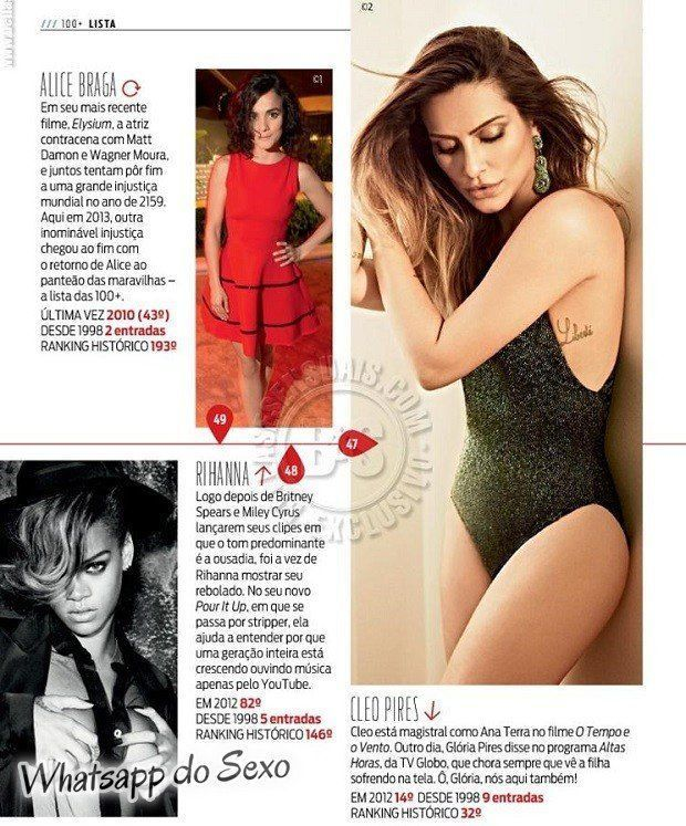 Gostosa Paolla Oliveira posando para a revista como a mulher mais sexy do mundo (21)