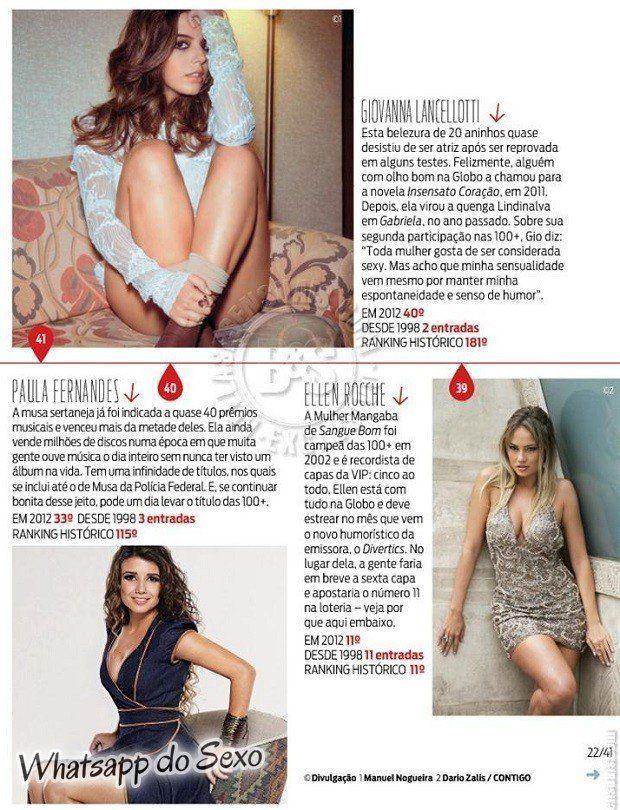 Gostosa Paolla Oliveira posando para a revista como a mulher mais sexy do mundo (24)