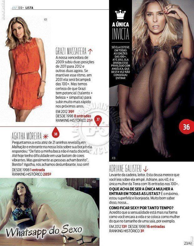 Gostosa Paolla Oliveira posando para a revista como a mulher mais sexy do mundo (25)