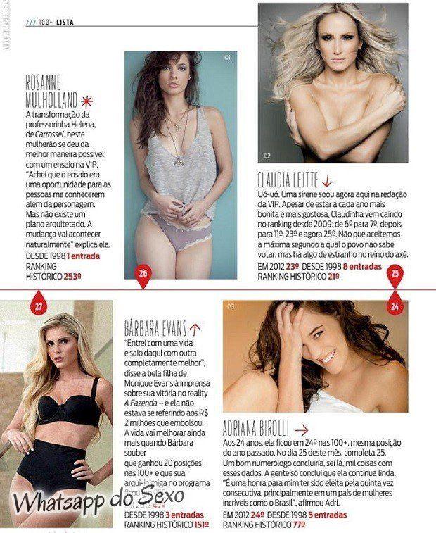 Gostosa Paolla Oliveira posando para a revista como a mulher mais sexy do mundo (30)