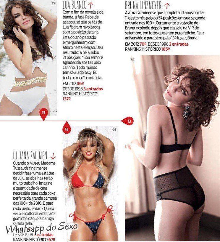 Gostosa Paolla Oliveira posando para a revista como a mulher mais sexy do mundo (34)