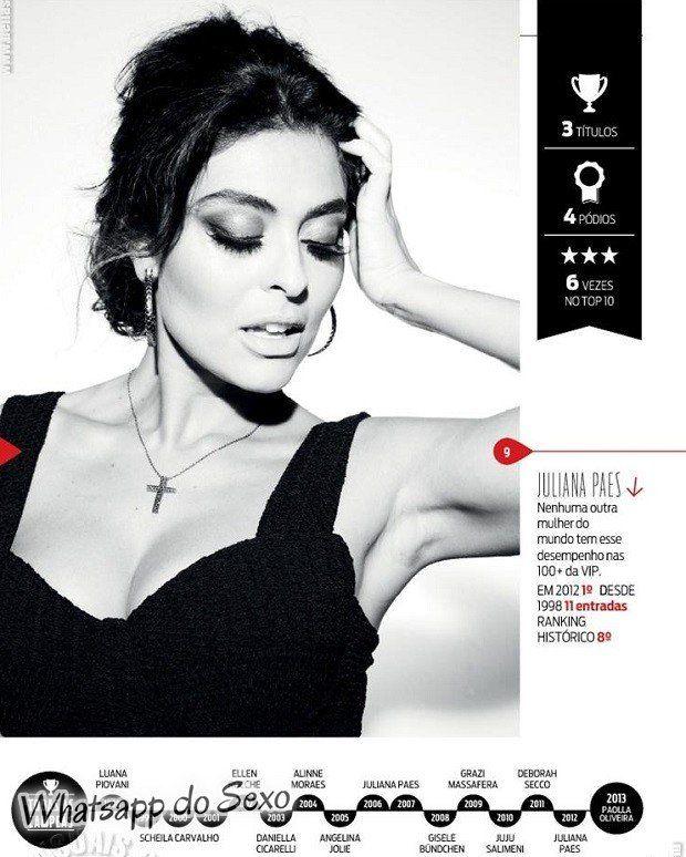 Gostosa Paolla Oliveira posando para a revista como a mulher mais sexy do mundo (36)
