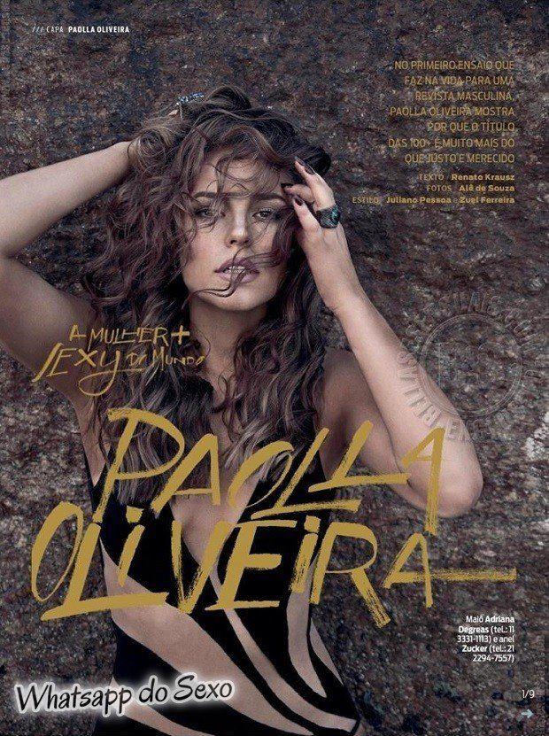 Gostosa Paolla Oliveira posando para a revista como a mulher mais sexy do mundo (44)