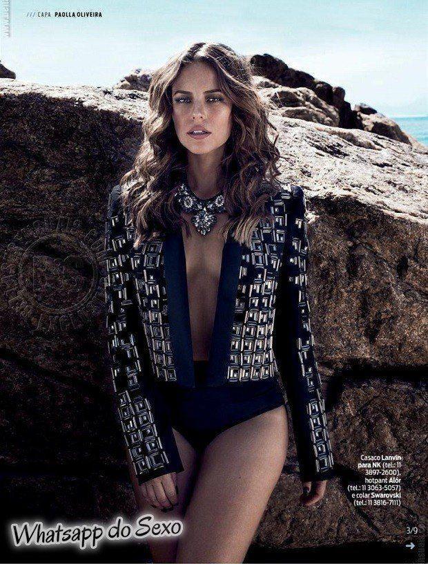 Gostosa Paolla Oliveira posando para a revista como a mulher mais sexy do mundo (46)