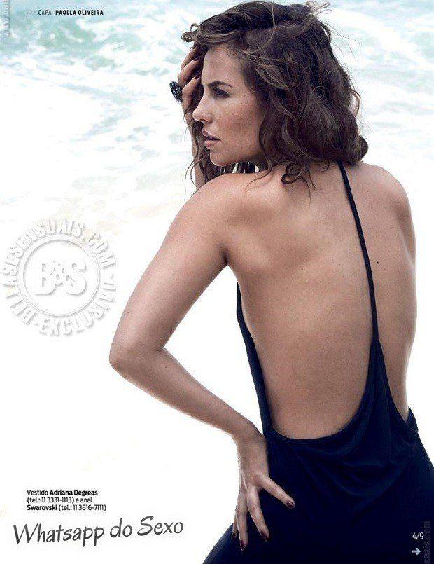 Gostosa Paolla Oliveira posando para a revista como a mulher mais sexy do mundo (47)