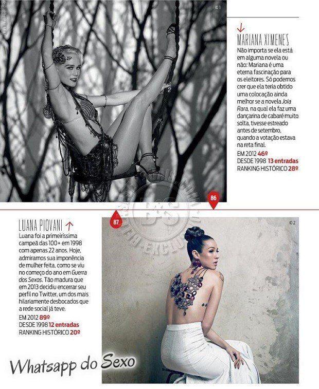 Gostosa Paolla Oliveira posando para a revista como a mulher mais sexy do mundo (7)