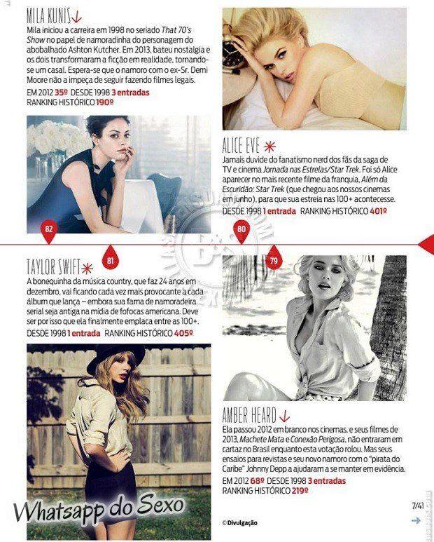 Gostosa Paolla Oliveira posando para a revista como a mulher mais sexy do mundo (9)
