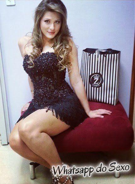 Lívia Andrade a loira gostosa do SBT