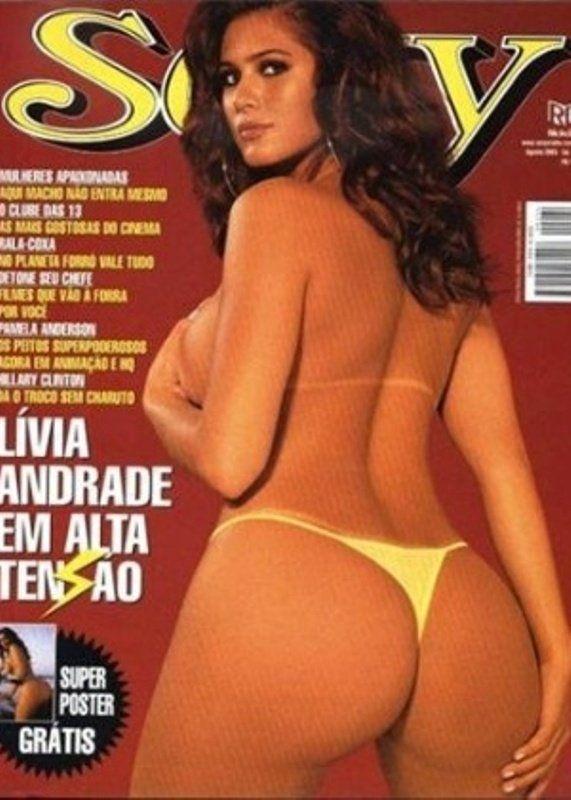 Revista Sexy Agosto de 2003 – Lívia Andrade nua
