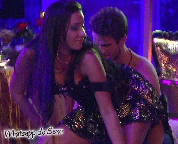 Talita sarrando e dançando funk em festa com Rafael BBB15
