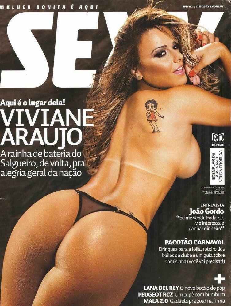 Revista Sexy fevereiro de 2012 – Viviane Araújo pelada