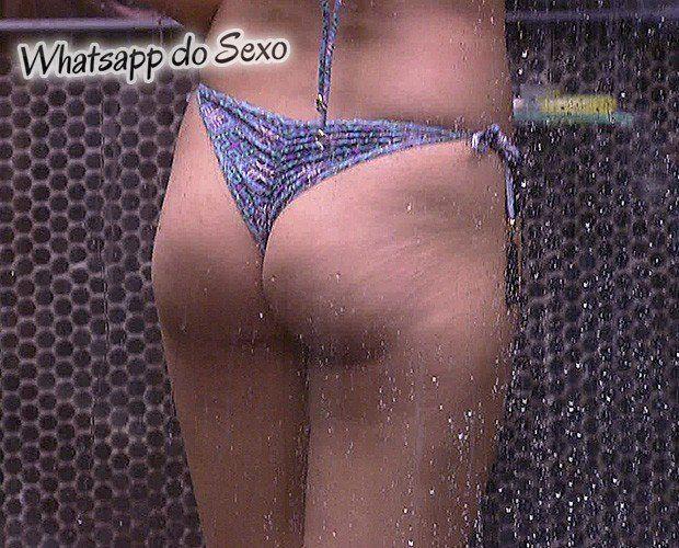 Andressa no banho na casa do BBB15 caiu no whatsapp das safadas (8)