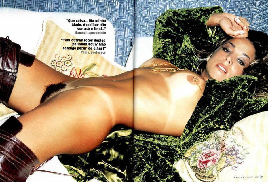 Danielle Winits peladinha em revista masculina playboy (7)