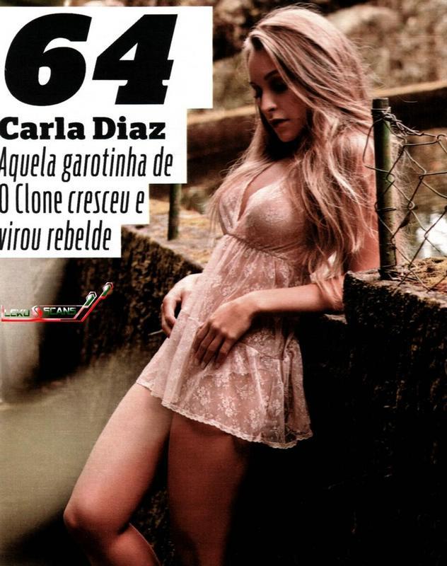 Carla Diaz na revista Vip de julho de 2011