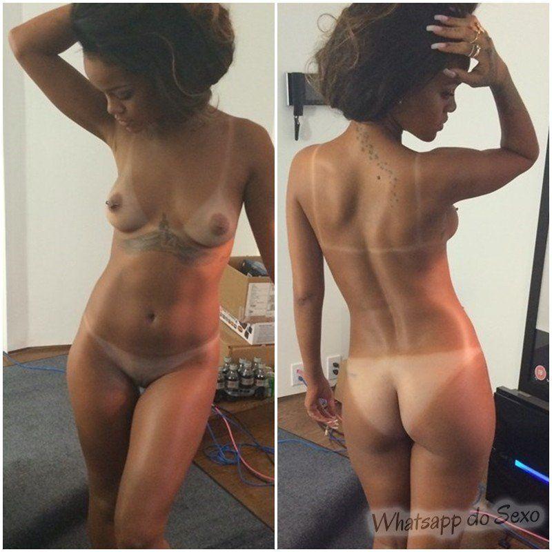 Caiu no whatsapp fotos da cantora Rihanna nua