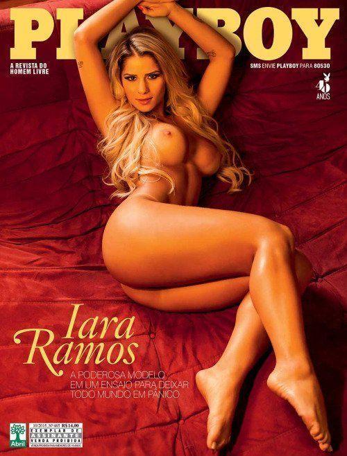 Panicat Iara Ramos pelada na playboy outubro de 2015