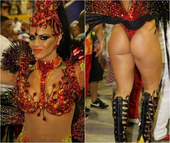 Fotos da Viviane Araújo nua pelada no carnaval (3)