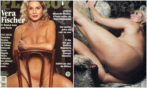 Vera Fischer pelada nua na revista Playboy