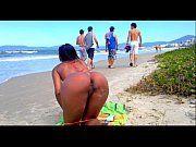 Fotos pornos de morena gostosa na praia sem a parte de baixo