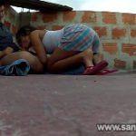 Favelada pagando boquete e dando na rua
