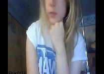 Ninfeta linda do bucetão cabeludo na webcam