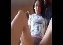 Novinha do whatsapp vazou tocando siririca