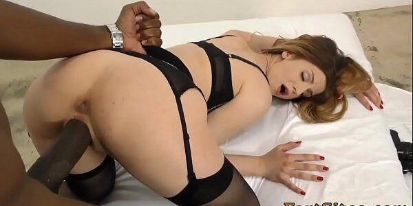 Atriz porno safada viciada em pau preto